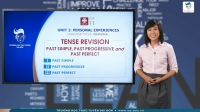 Tense Revision: Past Simple, Past Progressive and  Past Perfect