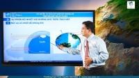 Khí quyển. Sự phân bố nhiệt độ không khí trên Trái Đất. Khí áp và gió