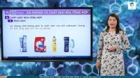 Xà phòng và chất giặt rửa tổng hợp