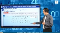 Phương trình mũ và phương trình lôgarit (Phần 2)