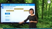 Môi trường: tài nguyên thiên nhiên và phát triển bền vững