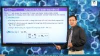 Bài toán Xác định nguyên tố