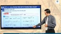 Phương trình mũ và phương trình lôgarit (Phần 1)